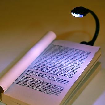 Portable Mini Led Book Lights Flexible Clip-on Bright Book