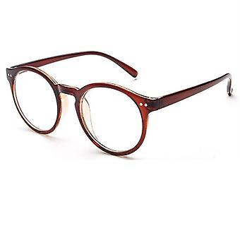 Moda Kobiety Okrągłe Ramki Okulary