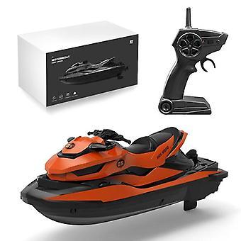 Rc motorboot speelgoed, mini afstandsbediening boot model voor water skiën