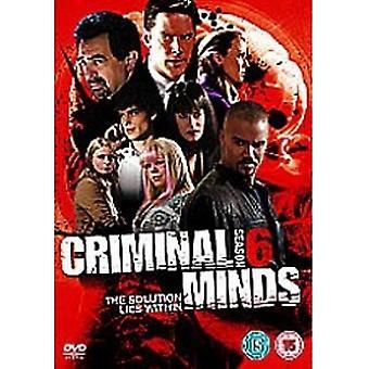 Criminal Minds Kausi 7 DVD