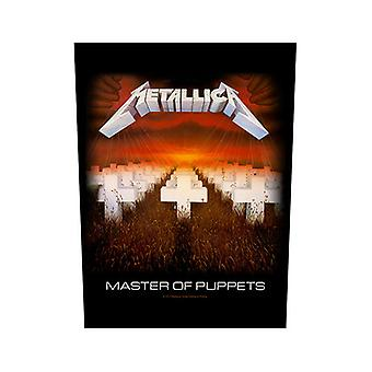 Metallica - Majster bábok späť Patch
