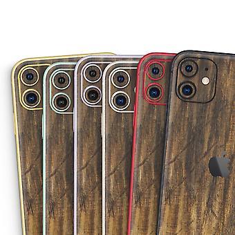 Raw Wood Deszka V4 - Bőr-készlet kompatibilis az Apple Iphone 12, 12