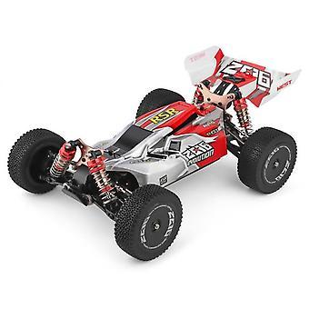 Kuorma-auto 2.4g kilpa-autokilpailu 60 km/h metallirunko 4wd sähköinen rc formula auto kauko-ohjaus lelut lapsille