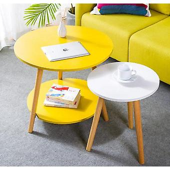 घर कार्यालय कैफे सामान के लिए लकड़ी कॉफी टेबल