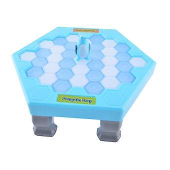 Mini Kids Save Penguin Ice Block Breaker Trap Toys Funny Parent Children Kids Table Game Kids Adult