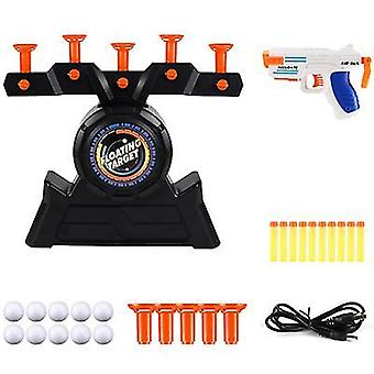 Shooting game set electric floating dart target practice flying ball floating shooting puzzle