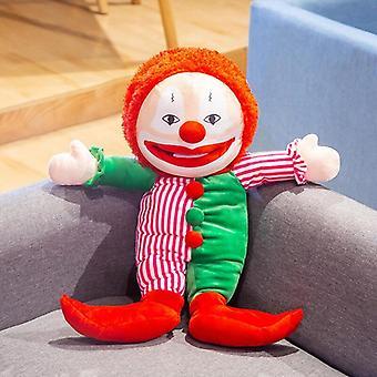 60cm Joker Claus Títeres de mano Juguetes Títeres Mostrar Niños Cuentos Guante Niños Muñeca de Felpa Regalo