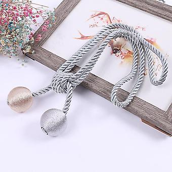 10 Colors simple curtain buckle pairs beauty blender straps rope curtain tassel