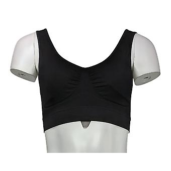NorthStyle Pullover Full Coverage Wire Free Bra Black