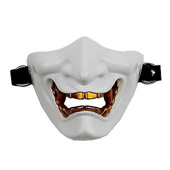 Halbgesichtsmaske Cosplay Samurai Teufel Taktische Halloween Festival Party