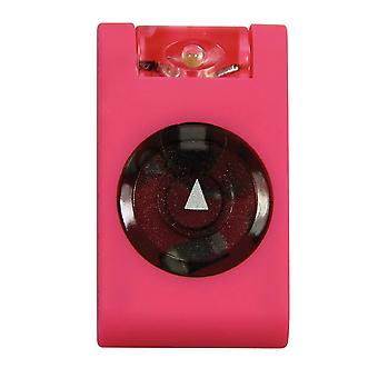 Mighty Bright LED Rubberized MicroClip Light - Pink