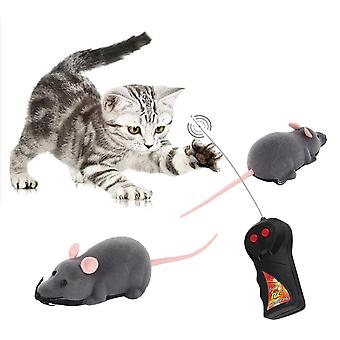 מפחיד שלט רחוק סימולציה קטיפה עכבר עכברים ילדים צעצועים מתנה לכלב חתול