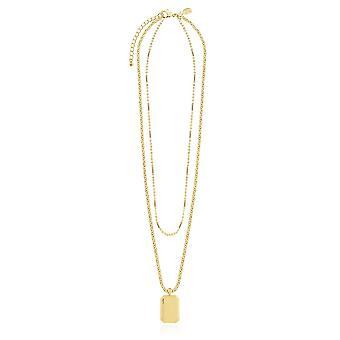 תכשיטי ג'ומה קיסמט שרשראות תג שרשרת זהב 4812