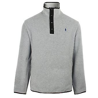 Ralph lauren miesten harmaa kanerva fleece pullover