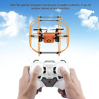 Robotic toys radio control drone 360-degree quadcopter led walking climbing flying modes