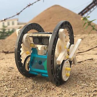 14 в 1 Наука Роботы Игрушки Diy Образовательные роботы на солнечных батареях для детей