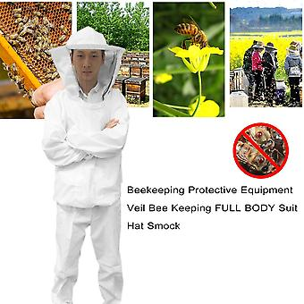 Včelárske ochranné prostriedky závoj včela vedenie plné telo oblek klobúk ponožka