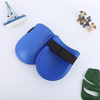 1 pár állítható és kényelmes térdvédő Eva hab párnázó térdpárnák kertészkedés kék