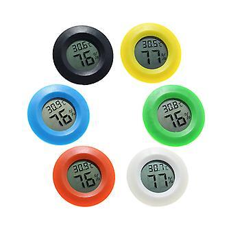 Mini Digital Innenthermometer Hygrometer Uhr Hygrometer Temperatur Lcd