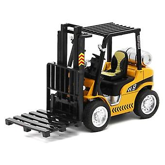 Construction Vehicle Children Lift Forklift Child Model Toy Gift Box Car Toy Pull Back Function