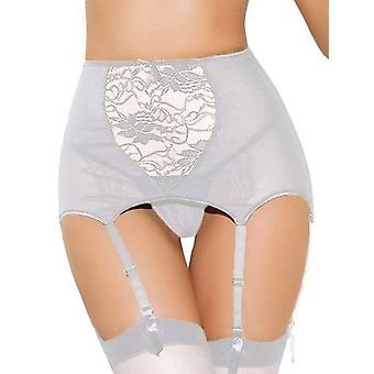 Women Elasticity Heart Faux Leather Harness, Tight Suspender Strap Garter Belt