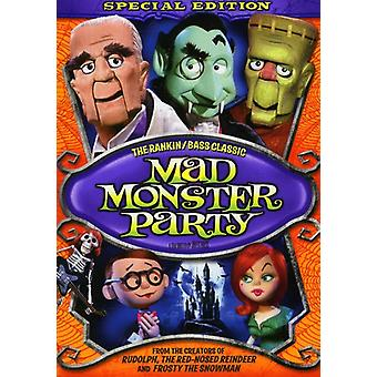 Mad Monster Party [DVD] EUA importar