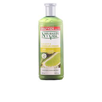 Naturaleza Y Vida Shampoo Gevoelig Cabello Graso 300+100 Ml Unisex