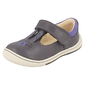 Tytöt Clarks ensimmäinen kengät kanin Design Amelio Glo