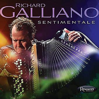Richard Galliano - Sentimentale [CD] USA import