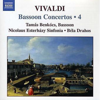 A. Vivaldi - Vivaldi: Bassoon Concertos, Vol. 4 [CD] USA import