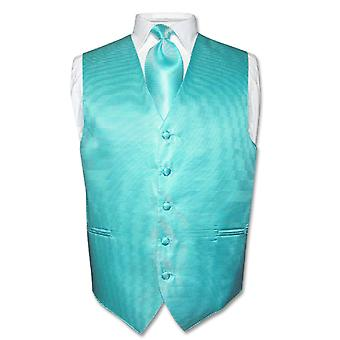 Kamizelka męska sukienka & krawat szyi krawat poziomy pas zestaw