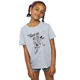 DC Comics Superman niñas bebé acero t-shirt