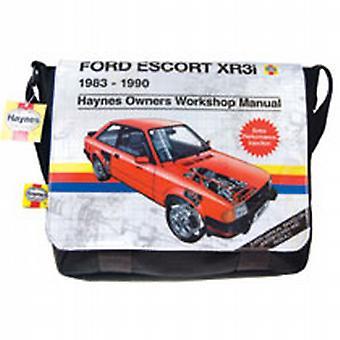 Haynes Ford Escort XR3 XR3i Satchel Olkalaukku