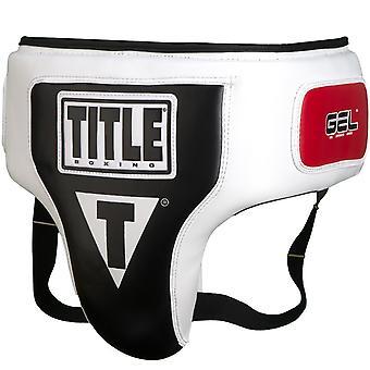 Titre boxe élite aine et protecteur de l'Ab - blanc/noir
