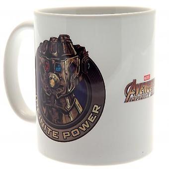 Avengers Infinity War Mug Power