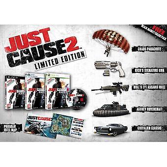 Just Cause 2 Limited Edition (PC DVD)-fabriken förseglad