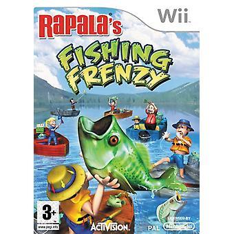 Rapalas fiske Frenzy fiskespö (Wii)-fabriken förseglad