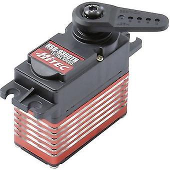 Hitec Standard servo HSB-9360TH Digital servo Gear box material: Steel nickel plated Connector system: JR