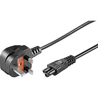 Goobay 96046 Laptop Netz Kabel schwarz 1,80 m
