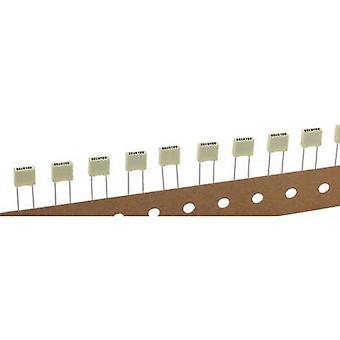 Kemet R82EC2680DQ60K+ 1 pc(s) PET capacitor Radial lead 68 nF 100 V 10 % 5 mm (L x W x H) 7.2 x 2.5 mm x 6.5 mm
