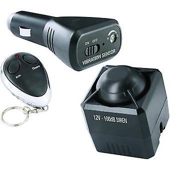 Smartwares कार अलार्म । रिमोट कंट्रोल, में कार निगरानी, कंपन सेंसर 12 V