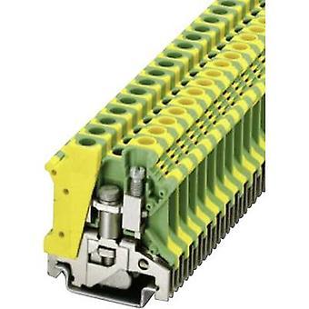 Phoenix Yhteystiedot USLKG 6 N 0442079 Tripleport PG terminaali Nastojen lukumäärä: 2 0,2 mm² 6 mm² Vihreä, Keltainen 1 kpl
