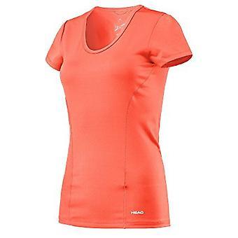 Pää vision t-paita naisten coral 814337