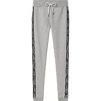 Tommy Hilfiger Women Logo HWK Track Pant, Heather Grey, XS