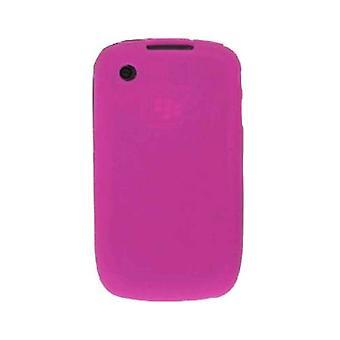 Soluções sem fio caso de Gel de Silicone para BlackBerry 8520 RIM - melancia