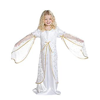 Kleiner Engel Engelskostüm Engelskleid weiss Kinder