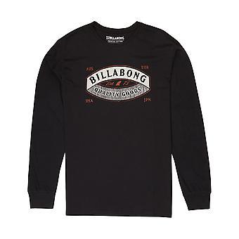 Billabong Guardiant Long Sleeve T-Shirt in Black