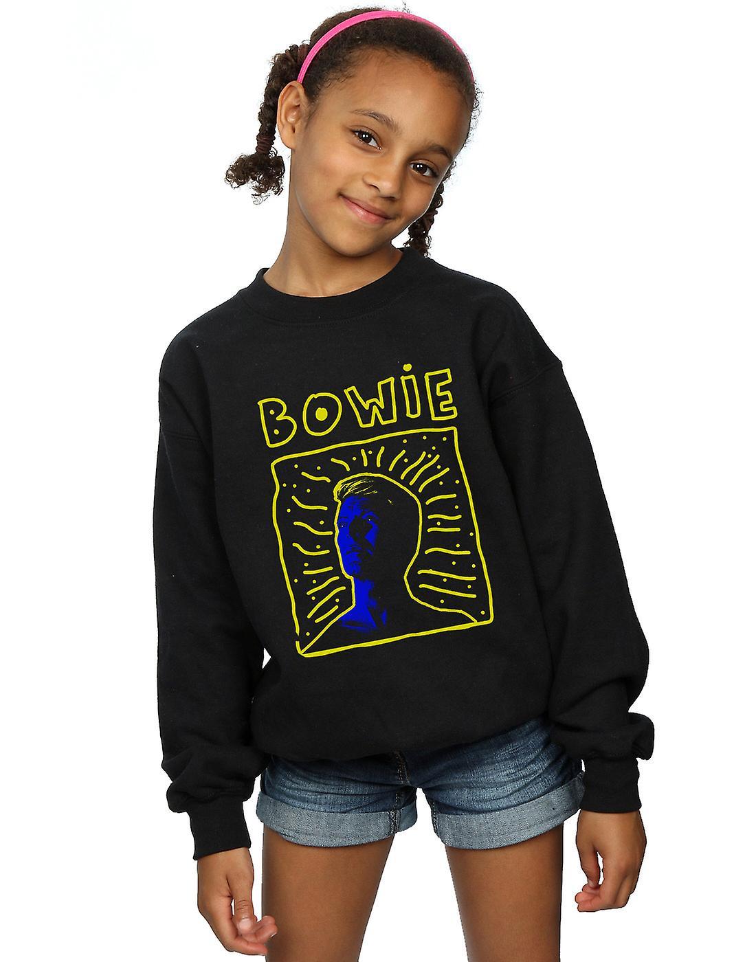 David Bowie Girls 90s Frame Sweatshirt