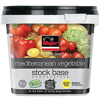 Major Gluten Free Mediterranean Vegetable Stock Base