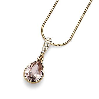 Oliver Weber Pendant Reach Rhodium Gold Plated